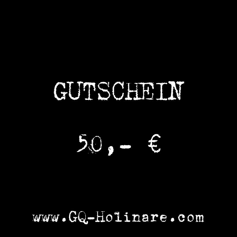 GQ Holinare Gutschein 50,- Euro