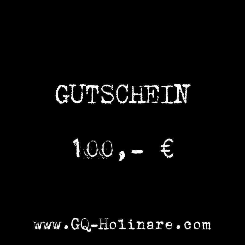 GQ Holinare Gutschein 100,- Euro