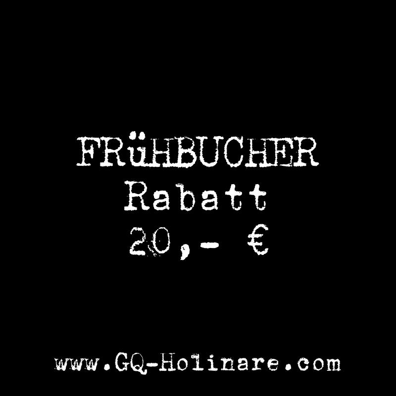 GQ Holinare Frühbucherrabatt
